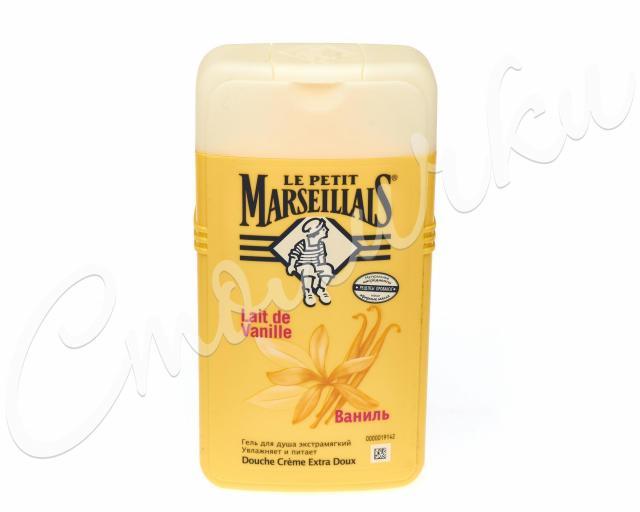 Ле Петит Марсельез гель для душа ваниль 250мл купить в Москве по цене от 0 рублей
