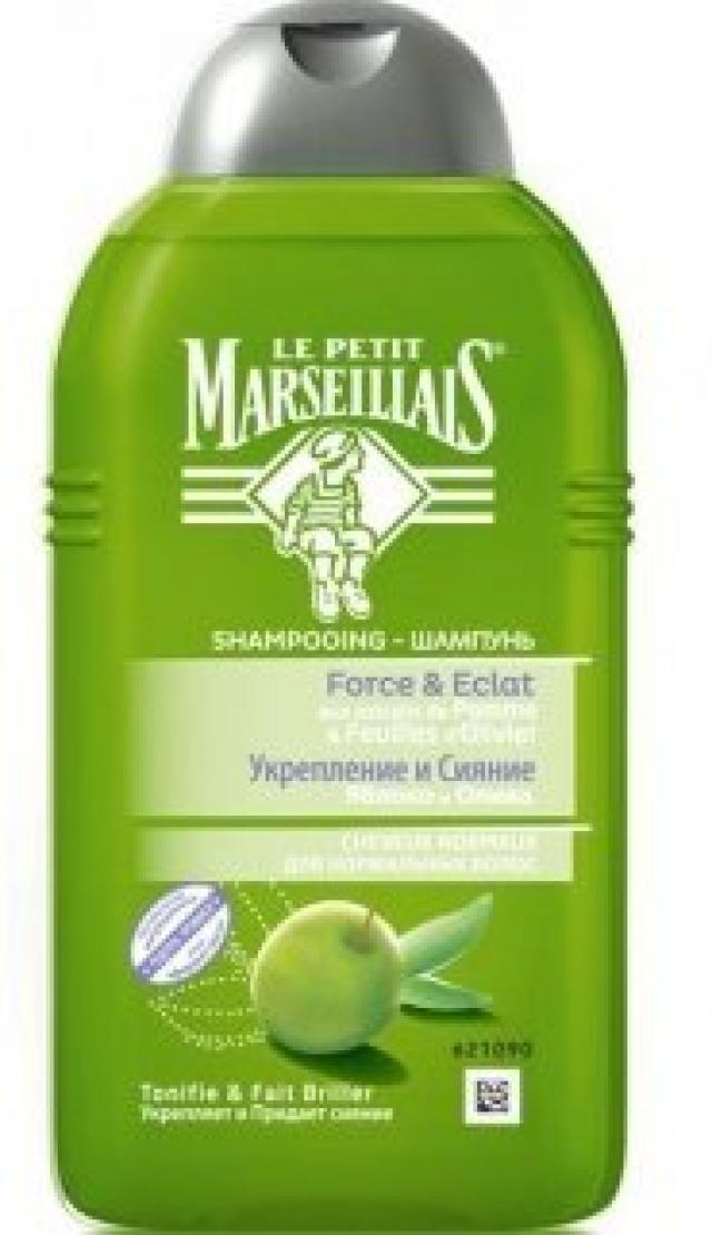 Ле Петит Марсельез шампунь для нормальных волос яблоко/олива 250мл купить в Москве по цене от 116 рублей