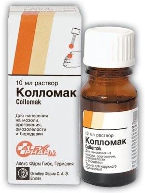 Колломак раствор 10мл купить в Москве по цене от 344 рублей