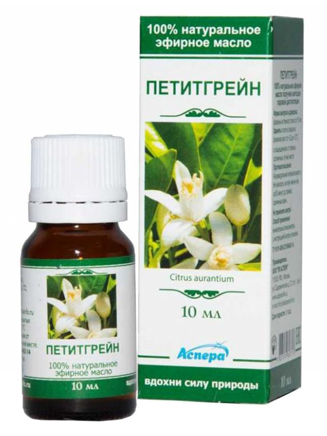 Аспера масло эф. петитгрейн 10мл купить в Москве по цене от 132 рублей
