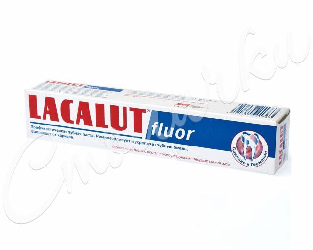Лакалют зубная паста Флуор 50мл купить в Москве по цене от 194 рублей