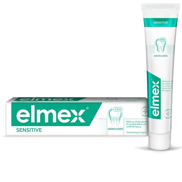 Элмекс зубная паста Сенситив плюс 75мл купить в Москве по цене от 274 рублей