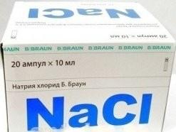 Натрия хлорид раствор для инфузий 0,9% 10мл №20 Браун купить в Москве по цене от 222 рублей