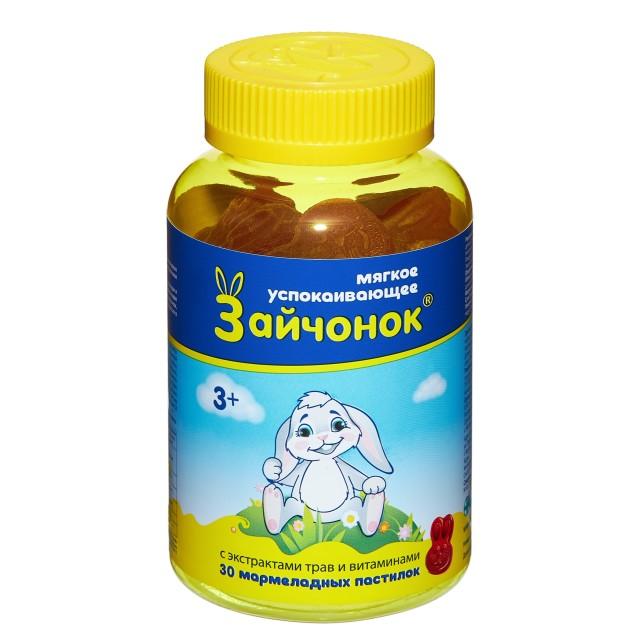 Зайчонок паст. жевательные №30 купить в Москве по цене от 311 рублей