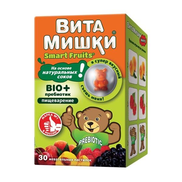 ВитаМишки БИО+ жевательные паст №30 купить в Москве по цене от 508 рублей