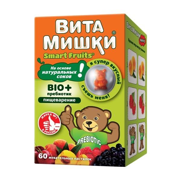 ВитаМишки БИО+ жевательные паст №60 купить в Москве по цене от 714 рублей