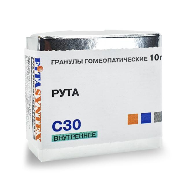 Рута Гравеоленс (Рута) С-30 гранулы 10г купить в Москве по цене от 172 рублей