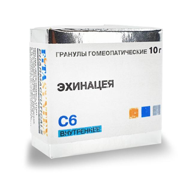 Эхинацея С-6 гранулы 10г купить в Москве по цене от 172 рублей