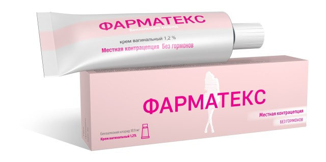 Фарматекс крем вагинальный 72г купить в Москве по цене от 483 рублей