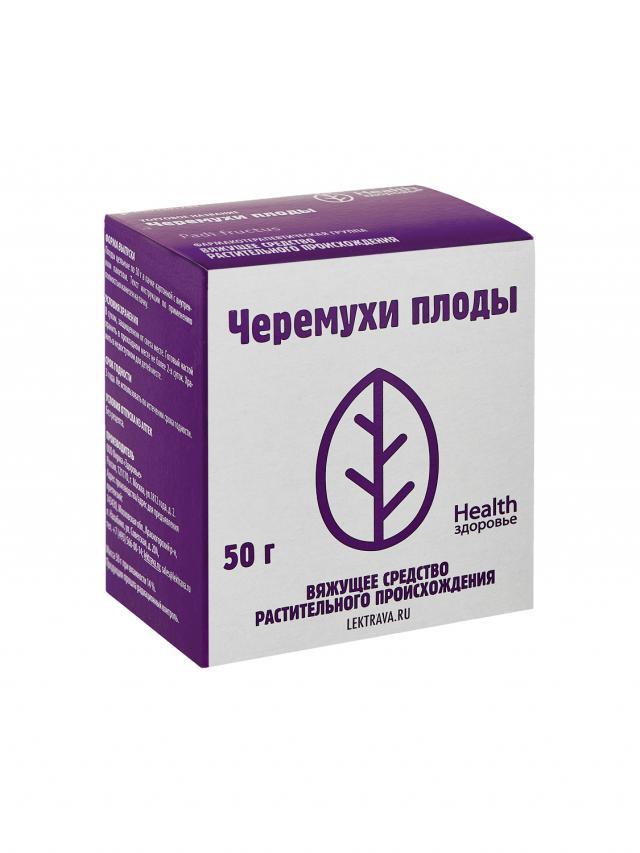 Черемуха плоды Здоровье 50г купить в Москве по цене от 66 рублей