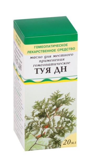 Туя ДН масло для местного применения 20мл купить в Москве по цене от 174 рублей