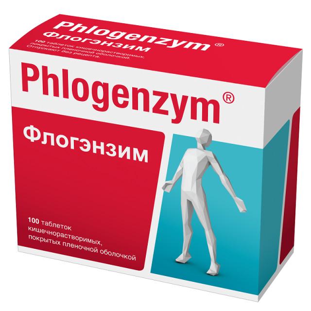Флогэнзим таблетки п.о №100 купить в Москве по цене от 2280 рублей