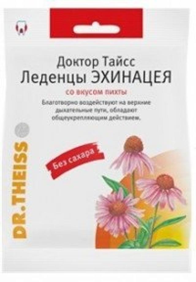 Доктор Тайсс леденцы Эхинацея/пихта 50г купить в Москве по цене от 0 рублей