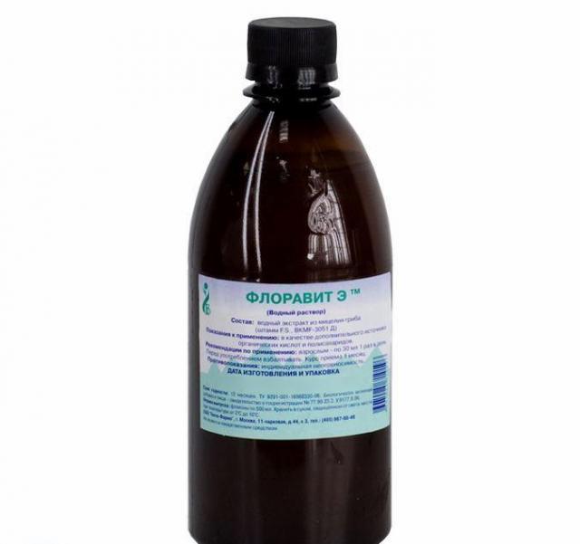 Флоравит-Э раствор водный для внутреннего применения 500мл купить в Москве по цене от 0 рублей
