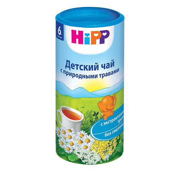 Хипп чай детский Природные травы с 6 мес. 200г купить в Москве по цене от 0 рублей