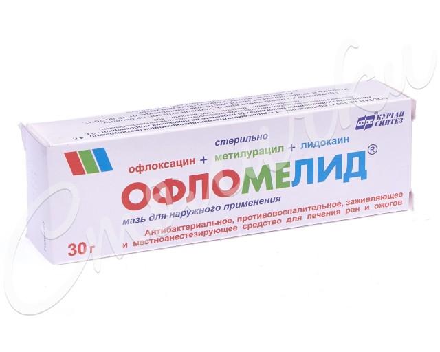 Офломелид мазь 30г купить в Москве по цене от 167 рублей