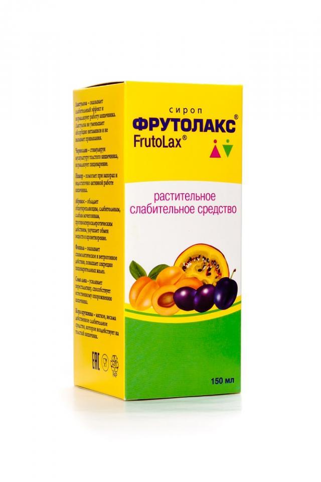 Фрутолакс сироп 150мл купить в Москве по цене от 0 рублей