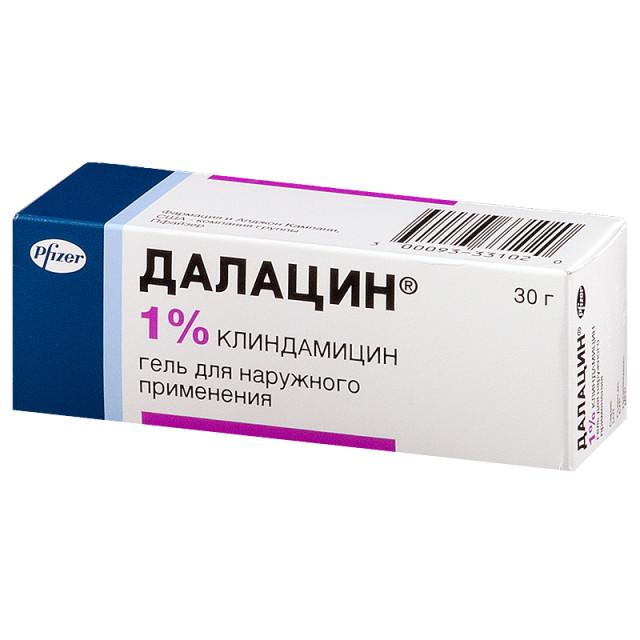 Далацин гель 1% 30г купить в Москве по цене от 1010 рублей