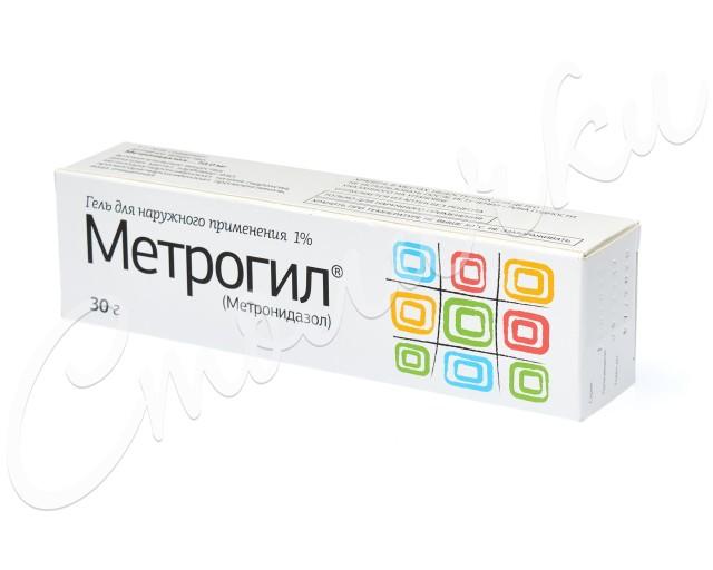 Метрогил гель 1% 30г купить в Москве по цене от 225 рублей