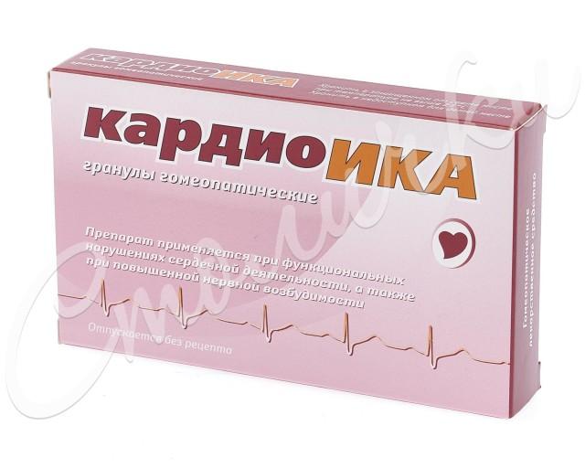 Кардиоика гранулы гомеопатические 10г купить в Москве по цене от 82 рублей