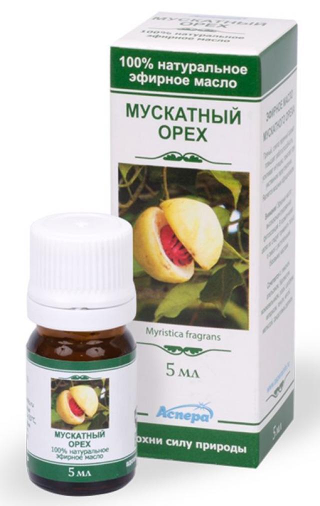 Аспера масло эф. мускатн.орех 5мл купить в Москве по цене от 186 рублей