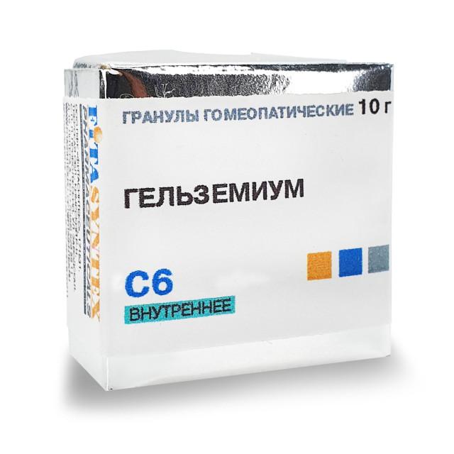Гельземиум С-6 гранулы 10г купить в Москве по цене от 191 рублей