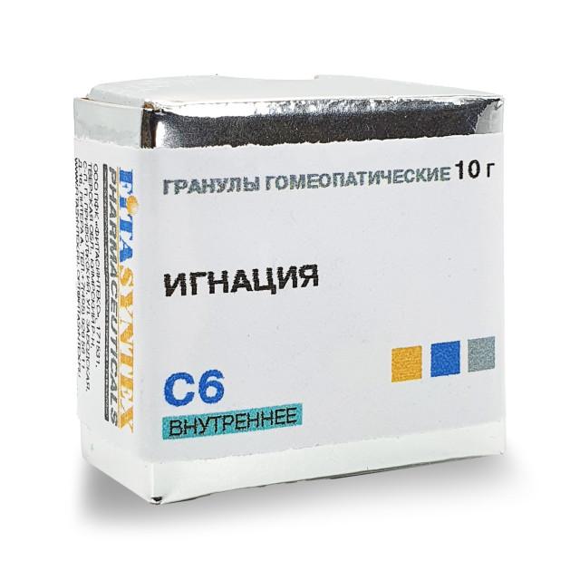 Игнация С-6 гранулы 10г купить в Москве по цене от 130 рублей