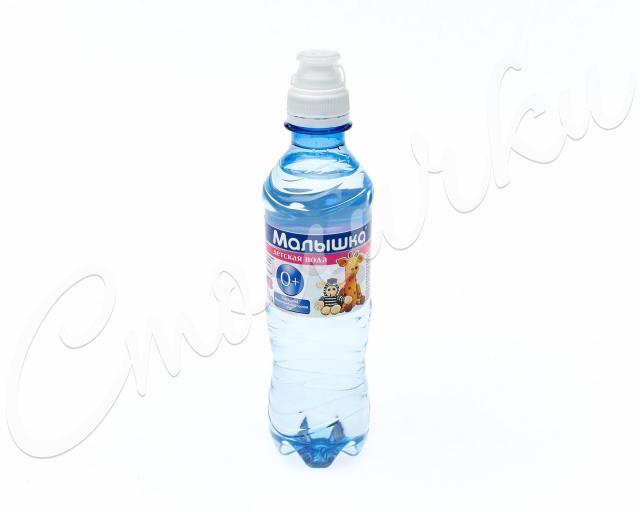 Вода минеральная Малышка 0,33л ПЭТ (спорт)* купить в Москве по цене от 35 рублей