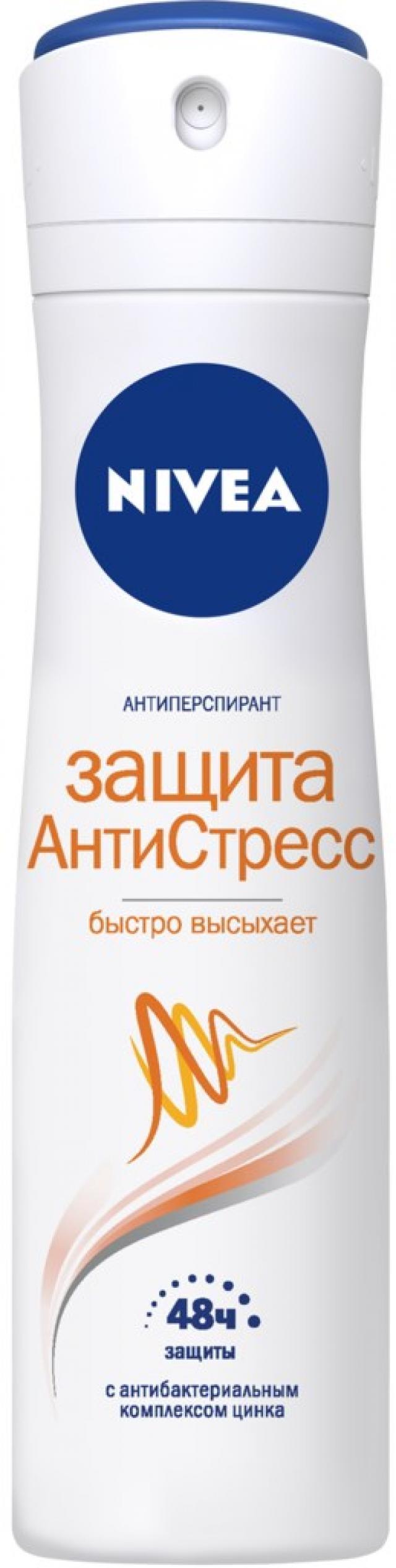 Нивея дезодорант-спрей Защита АнтиСтресс 150мл 82256 купить в Москве по цене от 0 рублей