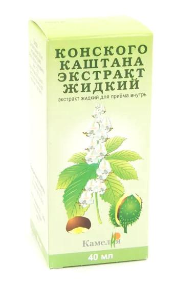 Конский каштан экстракт 40мл купить в Москве по цене от 92 рублей
