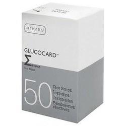 Глюкокард Сигма тест-полоски для глюкометра №50 купить в Москве по цене от 827 рублей