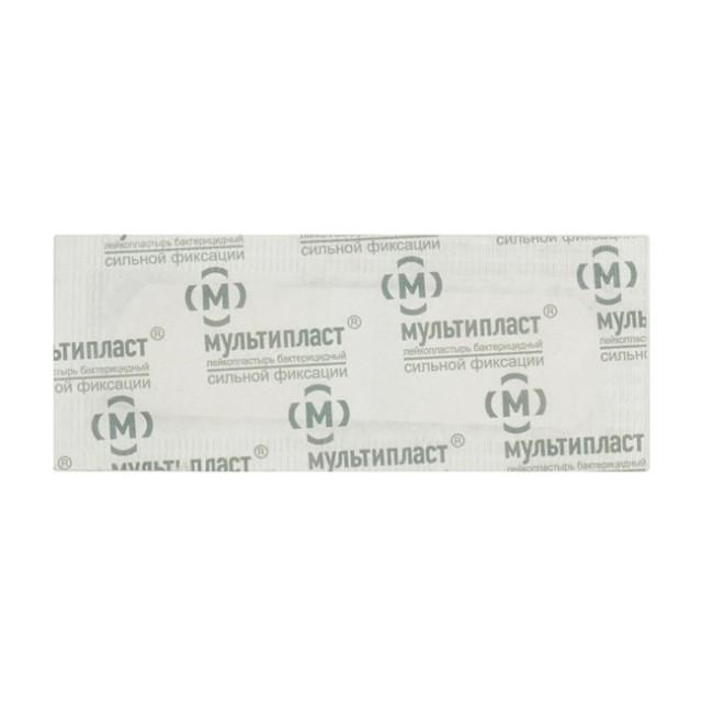 Мультипласт пластырь бактерицидный сил.фикс. 1,9смх7,2см купить в Москве по цене от 5.5 рублей