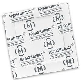 Мультипласт пластырь бактерицидный сил.фикс. 3,8смх3,8см купить в Москве по цене от 7.5 рублей