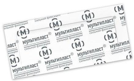 Мультипласт пластырь бактерицидный сил.фикс. 2,5смх7,2см купить в Москве по цене от 7 рублей