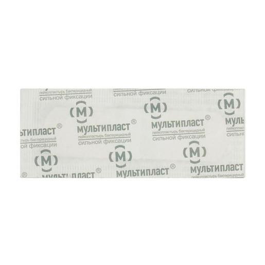 Мультипласт пластырь бактерицидный сил.фикс. 6смх10см купить в Москве по цене от 8.5 рублей