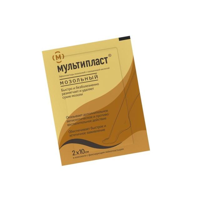 Мультипласт пластырь мозольный 2смх10см купить в Москве по цене от 49 рублей