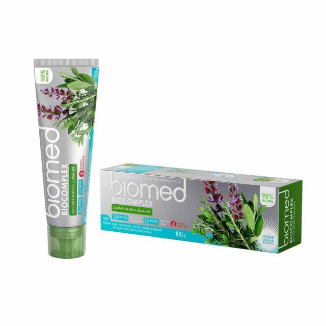 Биомед зубная паста Биокомплекс 100г купить в Москве по цене от 113 рублей