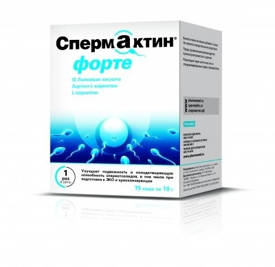 Спермактин Форте порошок пак. 10г №15 купить в Москве по цене от 3900 рублей
