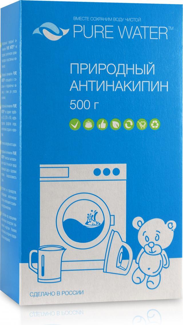 Пюр Вотер антинакипин природн. 500г купить в Москве по цене от 0 рублей