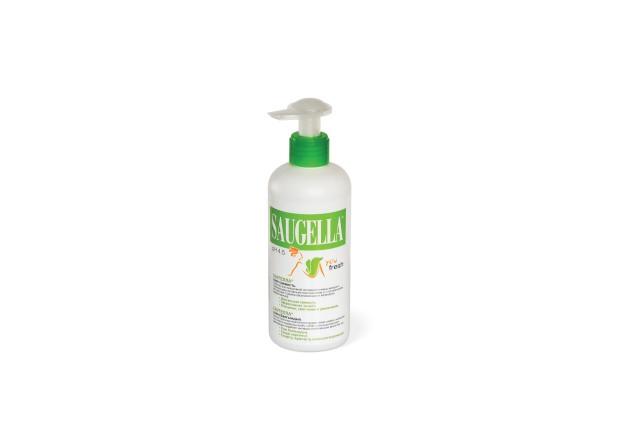 Саугелла Твоя свежесть мыло для интимной гигиены 200мл купить в Москве по цене от 320 рублей