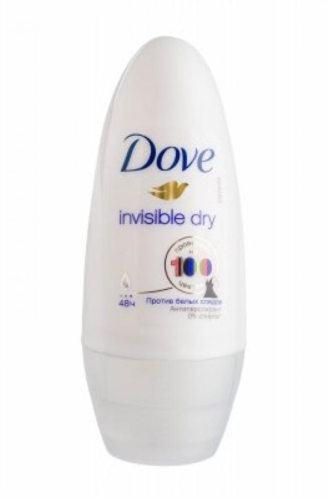 Дав дезодорант-ролик Невидимый 50мл купить в Москве по цене от 0 рублей