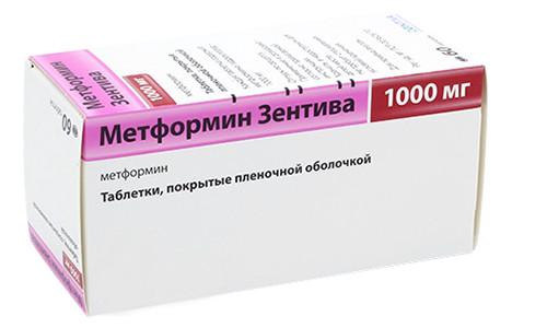 Метформин Санофи таблетки п.о 1000мг №60 купить в Москве по цене от 183.5 рублей