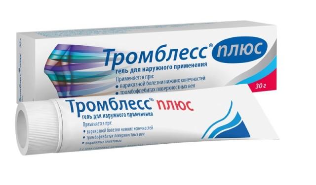 Тромблесс Плюс гель 30г купить в Москве по цене от 495 рублей