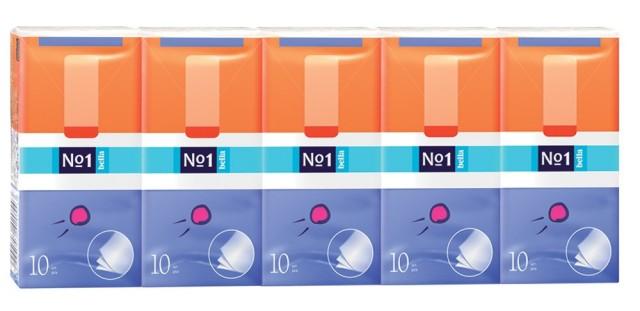 Белла платочки бумажные №10х10 купить в Москве по цене от 107 рублей