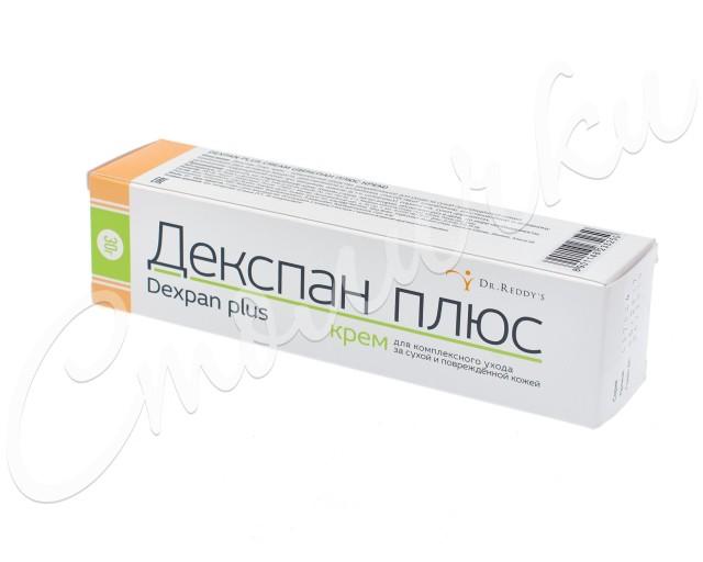 Декспан Плюс крем 30г купить в Москве по цене от 213 рублей
