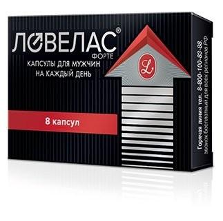 Ловелас форте капсулы №8 купить в Москве по цене от 705 рублей