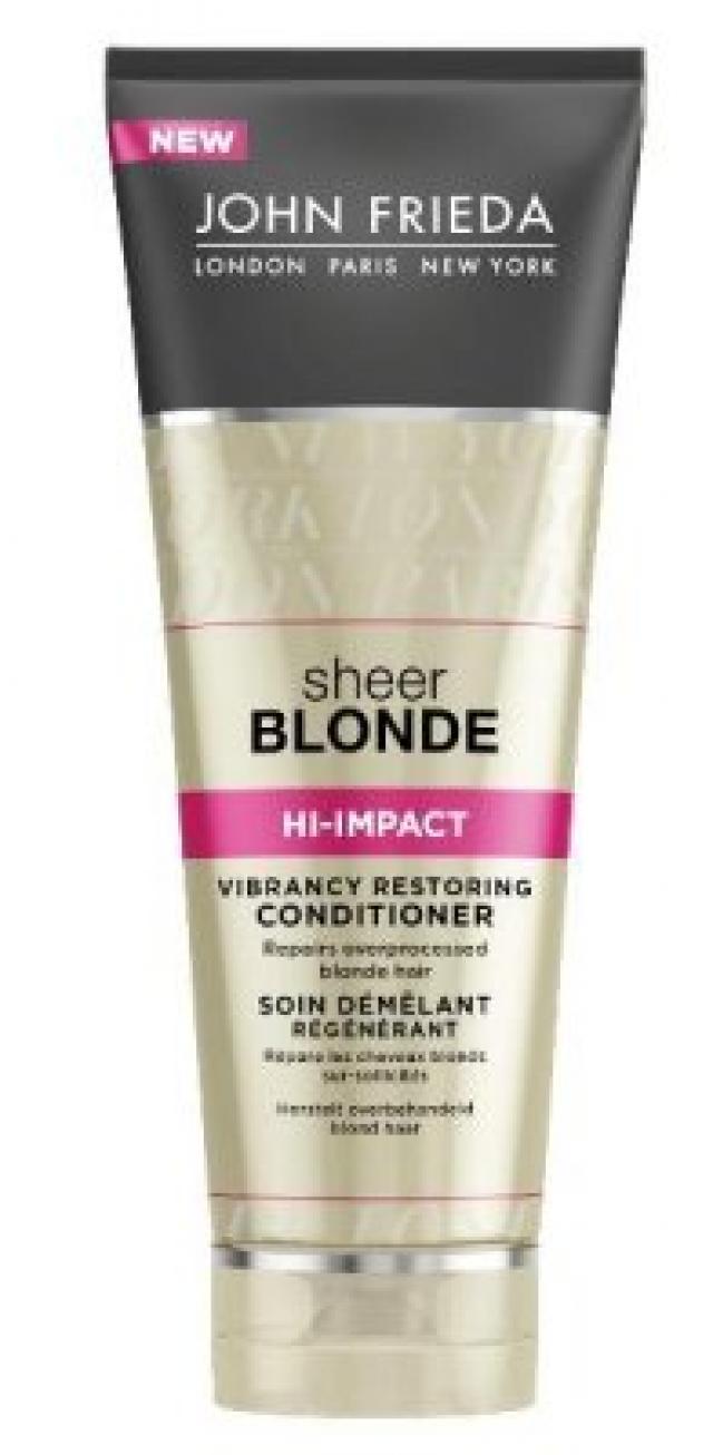 Джон Фрида кондиционер Шир Блонд восстанавливающий для окрашенных волос 250мл купить в Москве по цене от 666 рублей