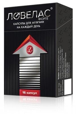 Ловелас форте капсулы №16 купить в Москве по цене от 850 рублей