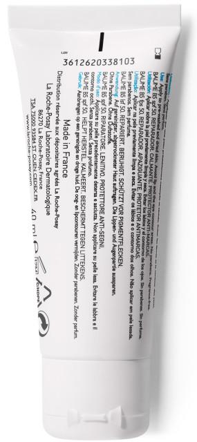 Ля рош позе Цикапласт бальзам SPF50 40мл купить в Москве по цене от 1020 рублей
