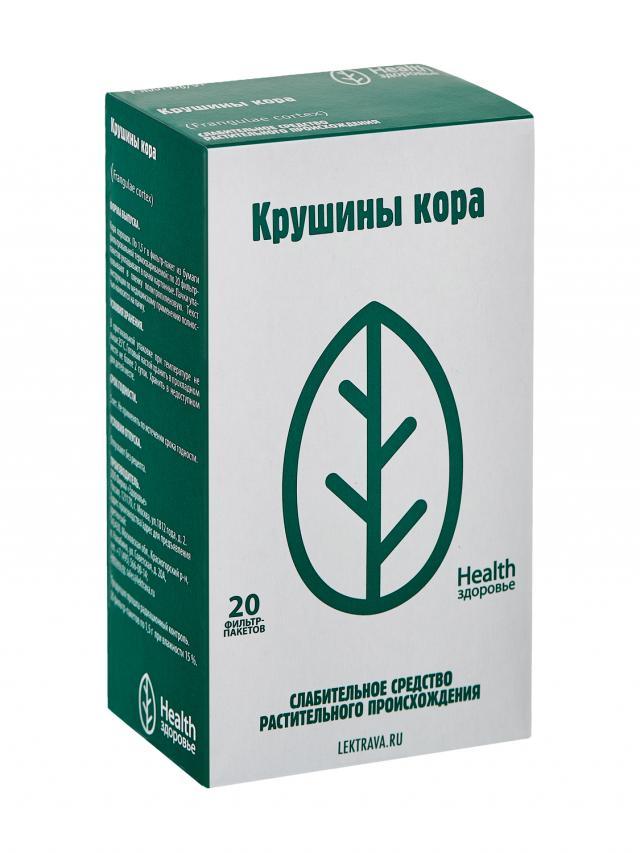Крушина кора Здоровье 1,5г №20 купить в Москве по цене от 66 рублей